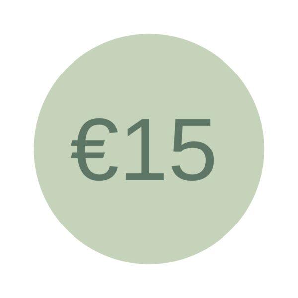 Cadeaubon EUR 10