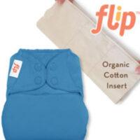 Flip one size bio-katoenen luier